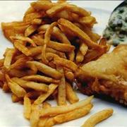 Fish and chips με σος ταρτάρ