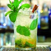 Cinnamon-honey mojito